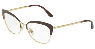 Dolce & Gabbana DG1298 1315 BROWN/GOLD