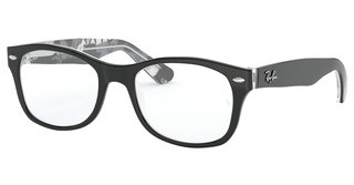 Ray-Ban Junior RY1528 3803 BLACK ON TEXTURE GREY BLACK