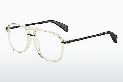 Okulary od projektantów. Rag and Bone RNB7006 MNG