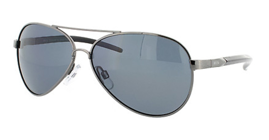 HIS Eyewear   HP00100 1 greybrushed silver