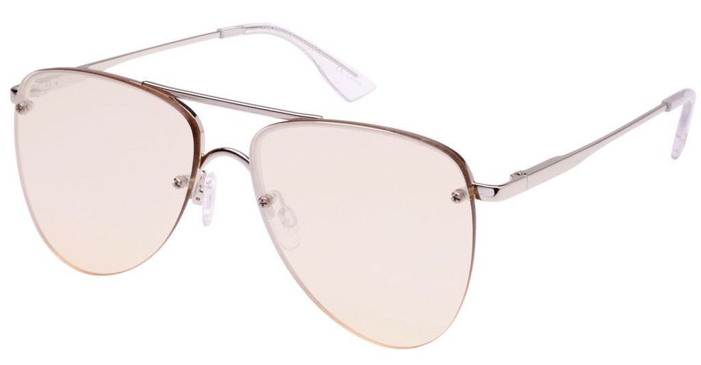 Le Specs   THE PRINCE LTD EDT LSP1702161 CHAMPAGNE FLASH MIRRORSILVER
