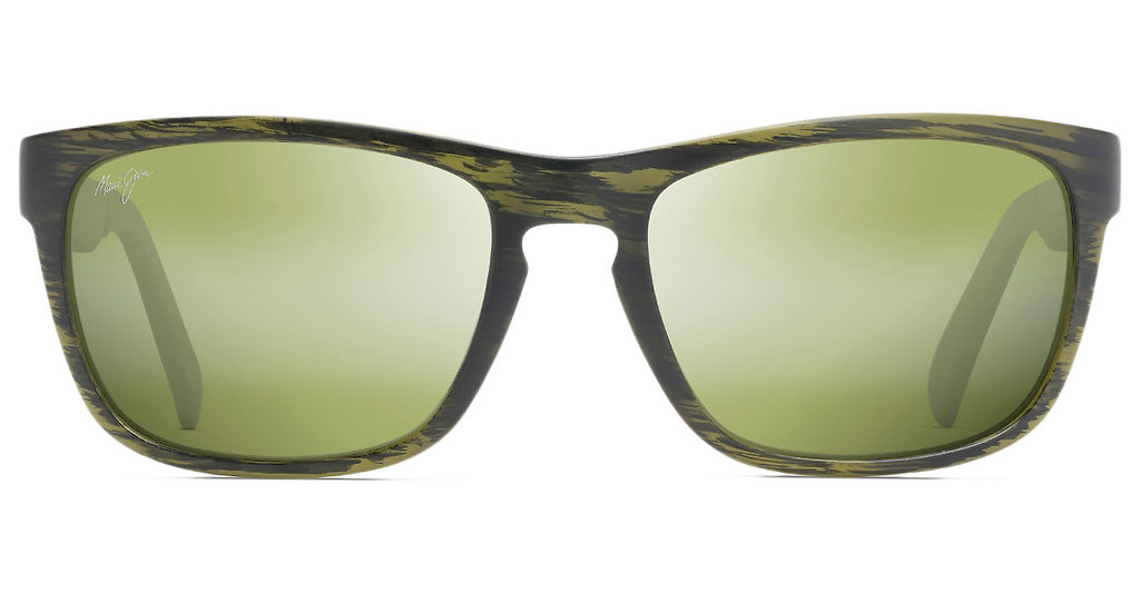 Maui Jim   South Swell HT755-15M Maui HTMatte Green Stripe