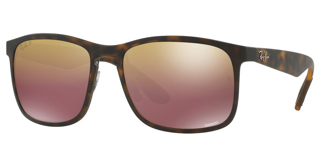 Ray-Ban   RB4264 894/6B BROWN POLAR MIRROR GOLDMATTE HAVANA
