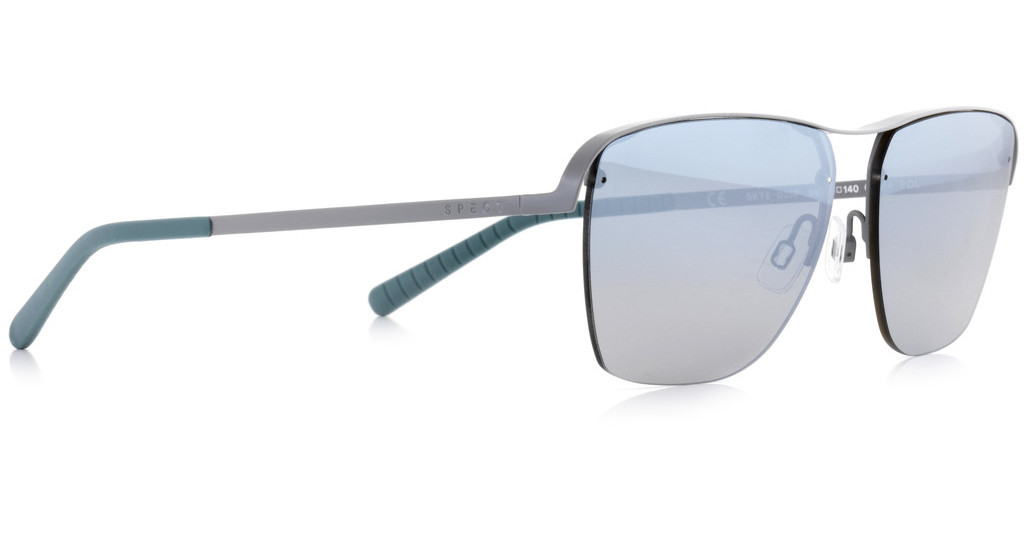 SPECT   SKYE 005P blue gradient with silver flash POLgreen