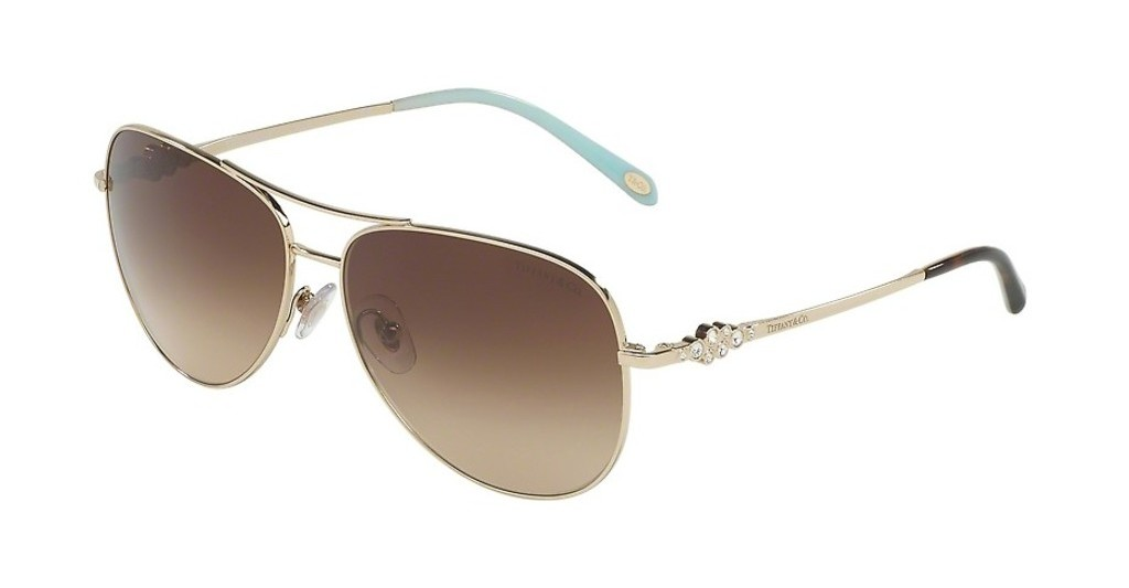 Tiffany   TF3052B 60913B BROWN GRADIENTPALE GOLD