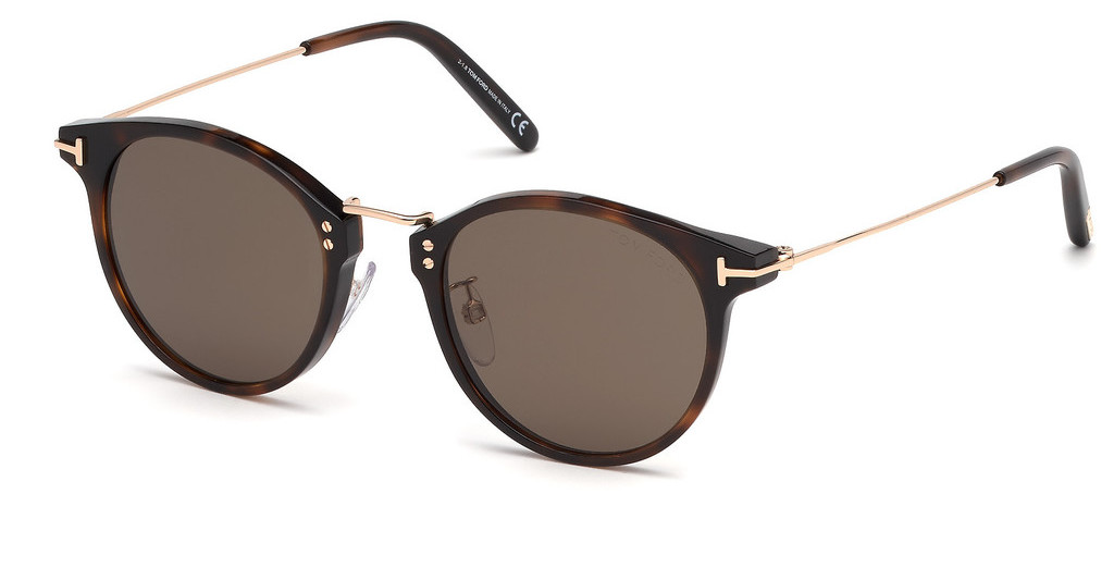 Tom Ford   FT0673 54J roviexhavanna rot