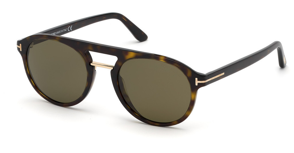 Tom Ford   FT0675 52H braun polarisierendhavanna dunkel