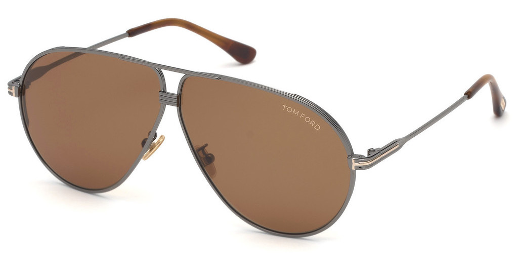 Tom Ford   FT0734-H 12E braunruthenium dunkel glanz