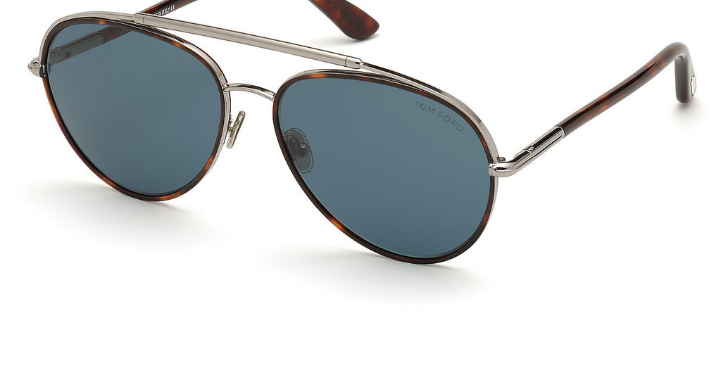 Tom Ford   FT0748 54V blauhavanna rot