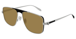 Alexander McQueen AM0200S 003 YELLOWSILVER