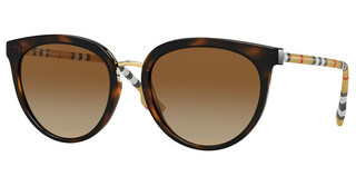 Burberry BE4316 3854T5 POLAR BROWN GRADIENTDARK HAVANA