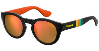 Havaianas TRANCOSO/M KVF/UW ORANGE FLASH MLBKSTRPDBK