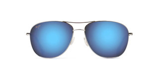 Maui Jim Cliff House B247-17 Blue HawaiiSilver
