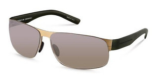Porsche Design P8531 B brown gradient, silver mirroredgold