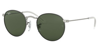 Ray-Ban Junior RJ9547S 277/71 DARK GREENTOP RUBBER BLACK ON SILVER