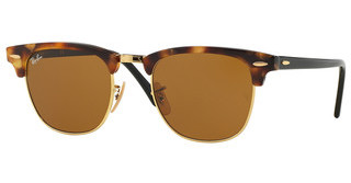Ray-Ban RB3016 1160 BROWNSPOTTED BROWN HAVANA