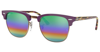 Ray-Ban RB3016 1221C3 LIGHT GREY MIRROR RAINBOW 2METALLIC MEDIUM BRONZE