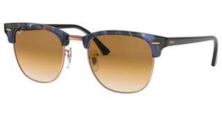 Ray-Ban RB3016 125651 CLEAR GRADIENT BROWNSPOTTED BROWN/BLUE