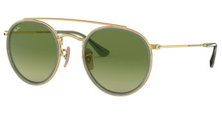 Ray-Ban RB3647N 91224M GREEN GRADIENT GREENGOLD