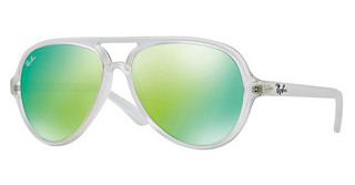 Ray-Ban RB4125 646/19 CRY.GREEN MIRROR MULTIL.GREENMATTE TRANSPARENT