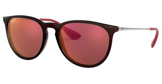 Ray-Ban RB4171 6339D0 DARK VIOLET MIRROR REDBROWN