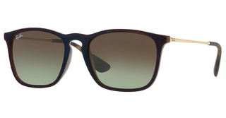 Ray-Ban RB4187 6315E8 GREEN GRADIENT BROWNTRANSPARENT BROWN SP BLU
