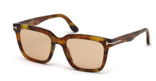 Tom Ford FT0646 55E braunhavanna bunt