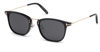 Tom Ford FT0672 01A grauschwarz glanz
