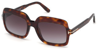 Tom Ford FT0688 54T bordeaux verlaufendhavanna rot