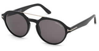 Tom Ford FT0696 01A grauschwarz glanz