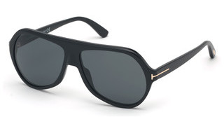 Tom Ford FT0732 01A grauschwarz glanz