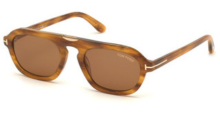Tom Ford FT0736 55E braunhavanna bunt