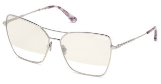 Tom Ford FT0738 16C grau verspiegeltpalladium glanz