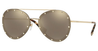 Valentino VA2013 30035A LIGHT BROWN MIRROR GOLDLIGHT GOLD