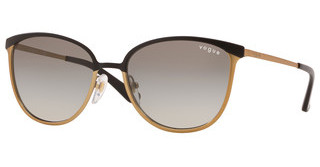 Vogue VO4002S 513411 GREY GRADIENTTOP MATTE BLACK/BRUSHED GOLD