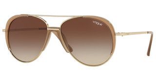Vogue VO4097S 848/13 BROWN GRADIENTPALE GOLD