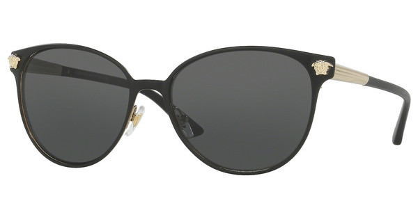Versace   VE2168 137787 GREYMATTE BLACK/PALE GOLD