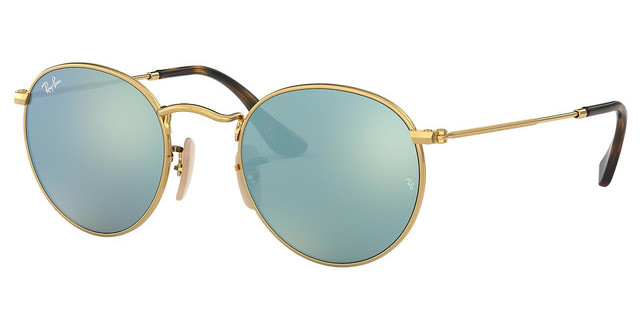 0a08ea23ae36d0 Ray-Ban ROUND METAL RB 3447N 001/30