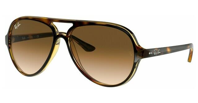 Czarny Okulary Przeciwsłoneczne Ray Ban Rb4125 Cats 5000